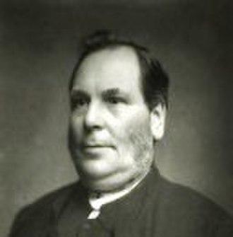 Monmouth Methodist Church - The Reverend Peter Mackenzie (1824–1895)