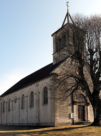 Petit-Croix - Church of the Nativity of Our Lady