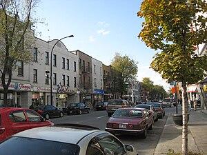 Saint Laurent Boulevard - St. Laurent Blvd. in Little Italy.