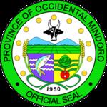 Offizielles Siegel der Provinz Provinz Occidental Mindoro