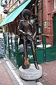 Phil Lynott statue, Dublin, October 2010.JPG