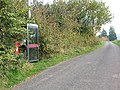 Phone box and postbox north of Dancing Green - geograph.org.uk - 603219.jpg