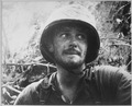 Photograph of U.S. Marine in Action at Peleliu Island - NARA - 520616.tif