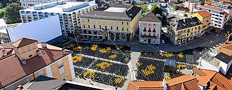 Locarno Festival - Piazza Grande screening venue