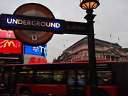 Piccadilly Circus Tube Roundel Andh