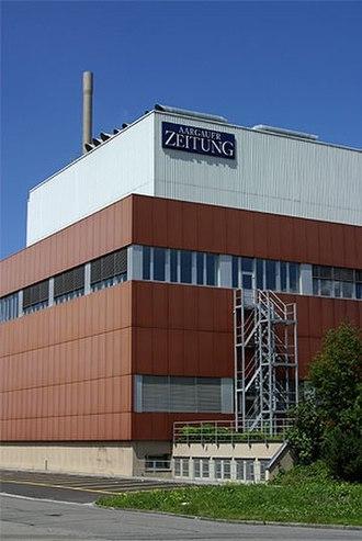 Aargauer Zeitung - Aargauer Zeitungs building in Aarau