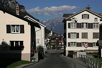 Linthal, Glarus - Image: Picswiss GL 11 11