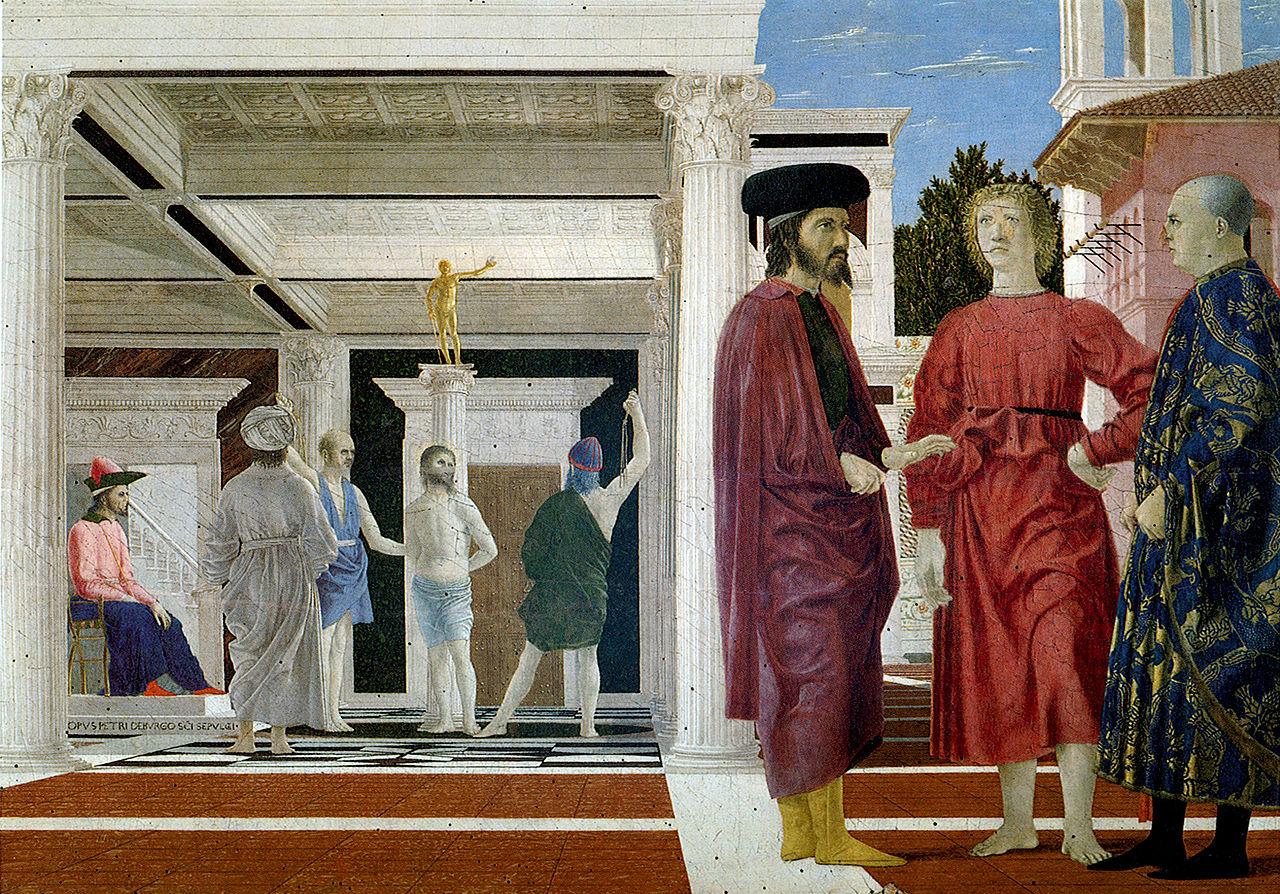 File:Piero, flagellazione 02.jpg - Wikimedia Commons