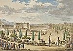 Pierre-Gabriel Berthault Entrée triomphale des monuments des sciences et arts 9 Thermidor an 6.jpg