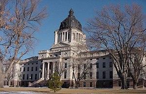 South Dakota State Capitol, in Hughes County