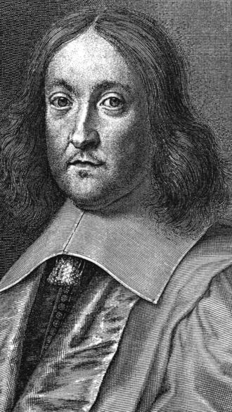 Proof of Fermat's Last Theorem for specific exponents - Portrait of Pierre de Fermat.