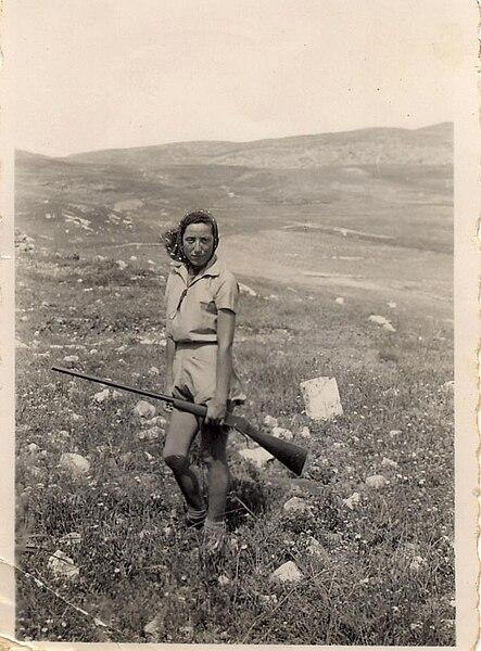 הינדה בשמירה רמת השניים - 1940