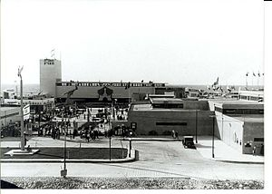 Levant Fair - Herbert Plumer Square - that was the central entrance