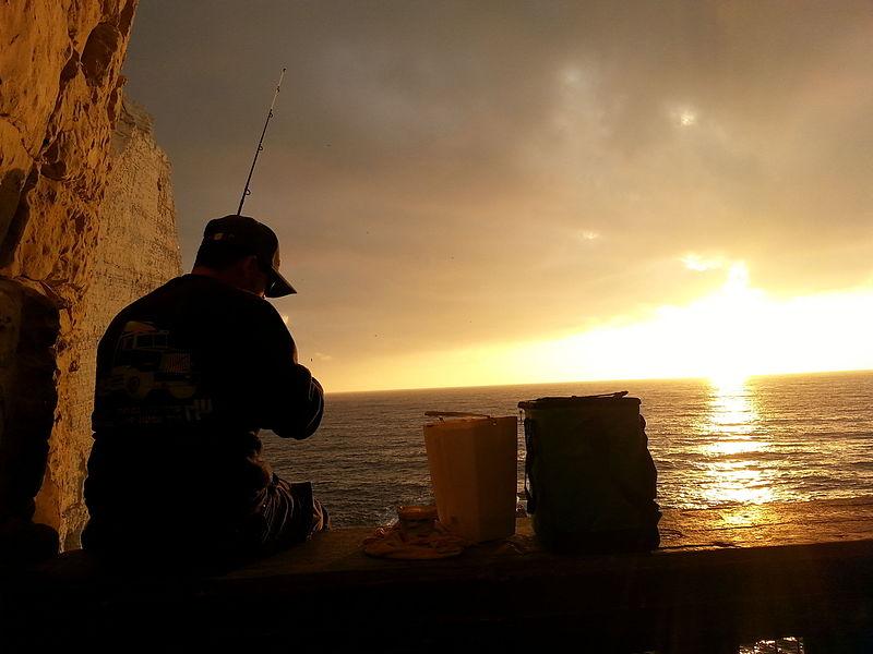 דייג בראש הנקרה