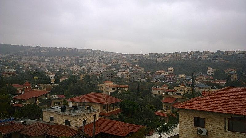 כפר ערערה יום גשום