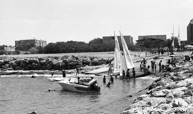 פתיחת המרינה בנהריה 9.1979