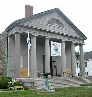 Pilgrim Hall Museum - Pilgrim Hall Museum, the oldest public museum in the United States