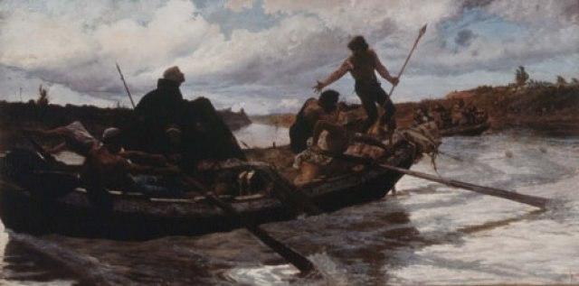 Pio Joris - La fuga di Papa Eugenio IV