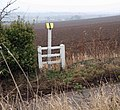 Pipeline marker on Edderthorpe Lane - geograph.org.uk - 1100554.jpg