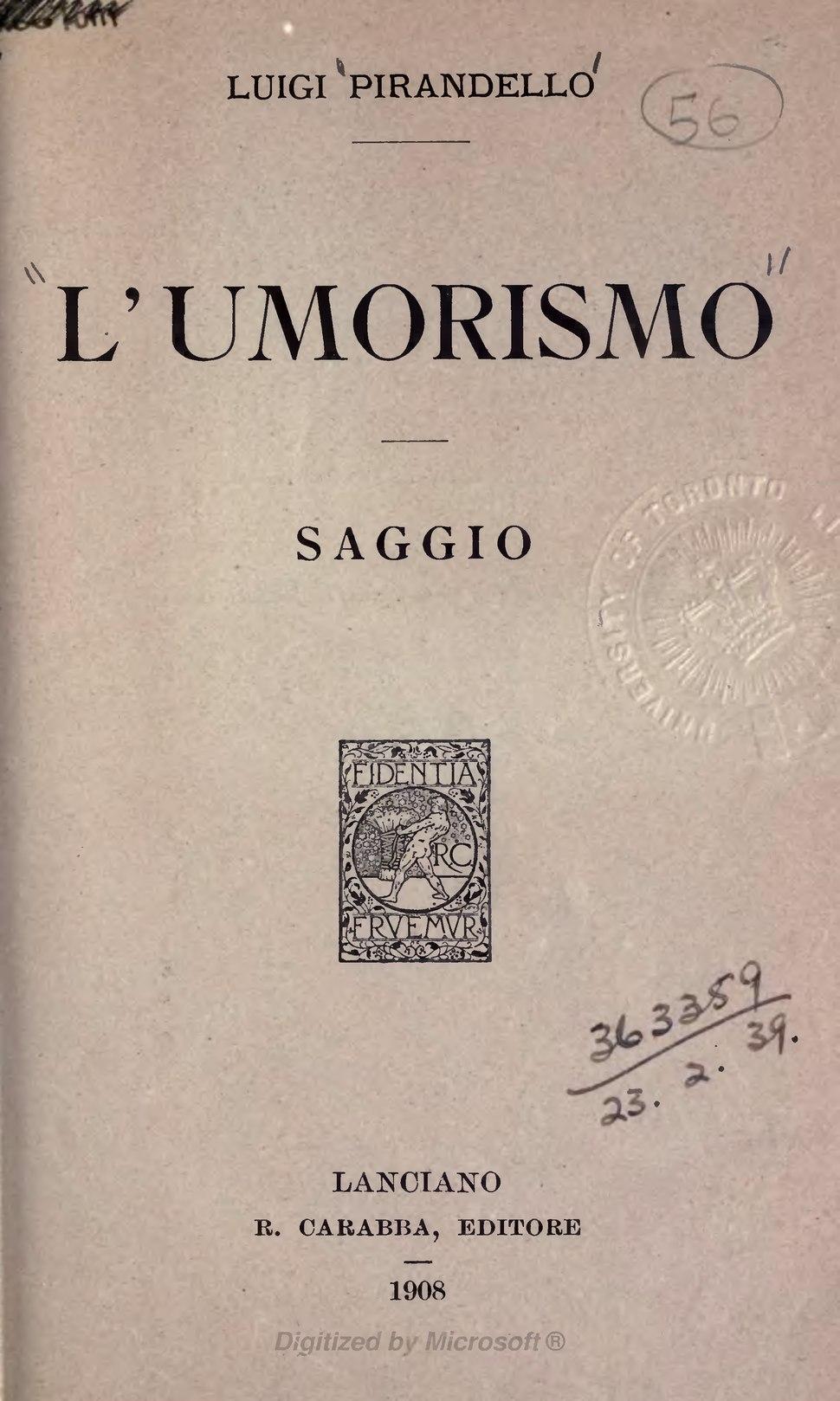 Pirandello - L%27Umorismo, 1908.djvu&page=7