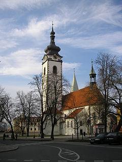 Church of the Nativity of the Blessed Virgin Mary (Písek) church in Písek District of South Bohemian region