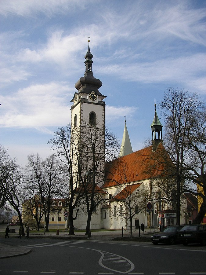 Church of the Nativity of the Blessed Virgin Mary (Písek)
