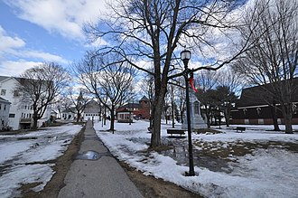 Pittsfield, New Hampshire - Town green