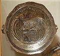 Pizarro Commemorative Plate, maker unknown, Peru, 19th century, silver - Brooklyn Museum - DSC09500.JPG