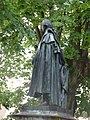 Place Monge, Beaune - statue of Gaspard Monge (35595110986).jpg