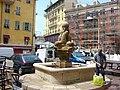 Place St François, Fontaine, Nice, Provence-Alpes-Côte d'Azur, France - panoramio.jpg