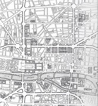 Eugène Hénard - Plan for great crossroads in Paris