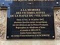 Plaque Victimes Juives Rafle Vel Hiv Centre Culturel Marius Sidobre Arcueil 1.jpg