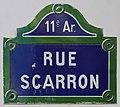 Plaque rue Scarron Paris 1.jpg