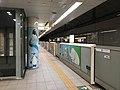 Platform of Yakuin-Odori Station 6.jpg