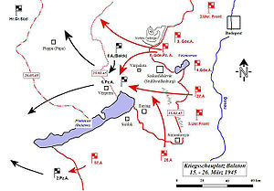 Operation Spring Awakening - Soviet counterattack