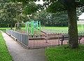 Playground - Cemetery Walk, Almondbury - geograph.org.uk - 966219.jpg