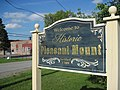 Pleasant Mount, Pennsylvania, Village Sign.JPG