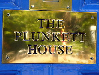Horace Plunkett - The Plunkett House nameplate