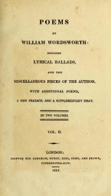 Indexpoems By William Wordsworth 1815 Volume 2djvu