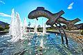 Poertschach Kreisverkehr Fischbrunnen 10042012 223.jpg