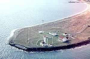 Point Wilson - Point Wilson and the Point Wilson Lighthouse