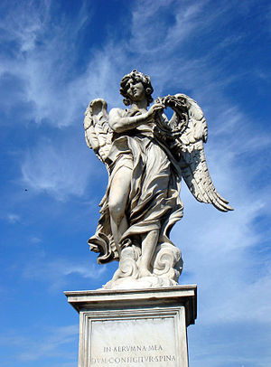 Ponte Sant'Angelo - Image: Ponte sant Angelo angelo della Corona (originale a sant Andrea delle Fratte) 00599
