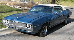2nd-gen Pontiac LeMans coupe