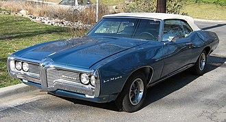 Pontiac LeMans - 1969 Pontiac LeMans convertible