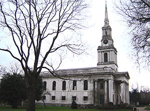 Poplar, London - Image: Poplar all saints church 1