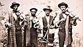 Popular Gozitan musicians known as Id-Dudi, 1910s. Photo Mikiel Farrugia.jpg