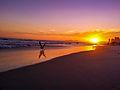 Por do sol encantado Pepê - Praia da Barra da Tijuca.jpg