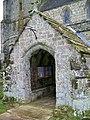 Porch, St Mary's Church, Donhead St Mary - geograph.org.uk - 1172272.jpg