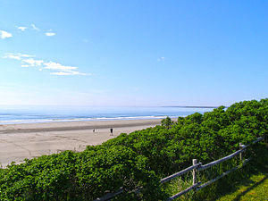 Port Maitland, Nova Scotia - This is a shot of Port Maitland Beach at the beginning of July.