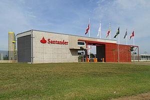 University of Campinas - Entrance to Santander's datacenter, located next to Unicamp